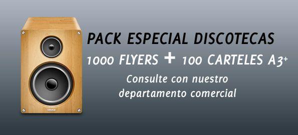 Pack Especial Discotecas