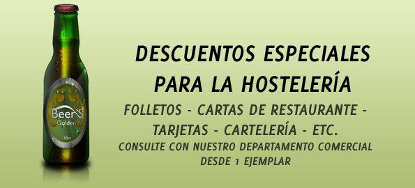 Condiciones especiales para la Hostelería