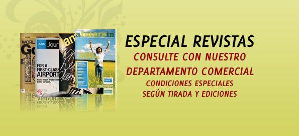 Especial Revistas