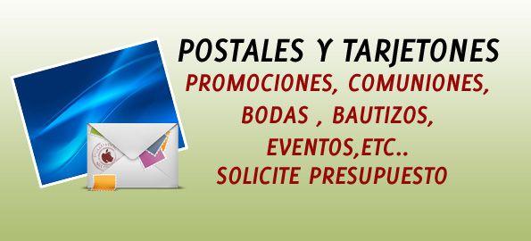 Especial Postales y tarjetones