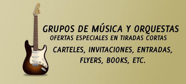 Grupos de música y orquestas