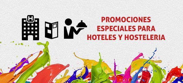 Packs especiales para hoteles, experiencia y calidad